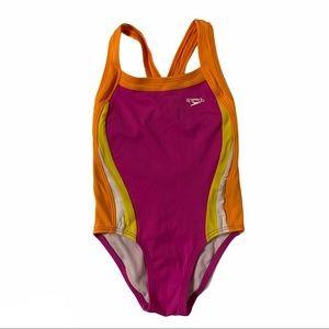 SPEEDO Girl's One Piece Swimsuit Size 7